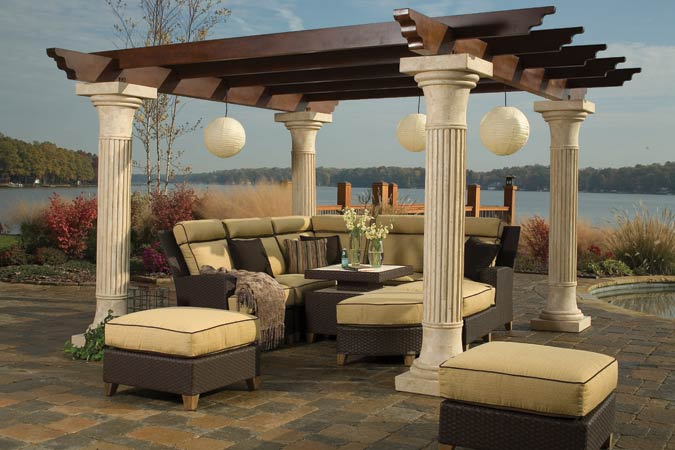 The ernest hemingway collection of outdoor furniture Ernest hemingway inspired decor